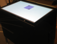 Multi-touch table in action